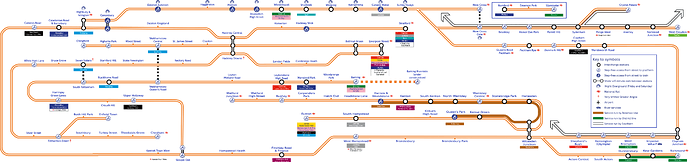 Overground In car Diagram PNG 3