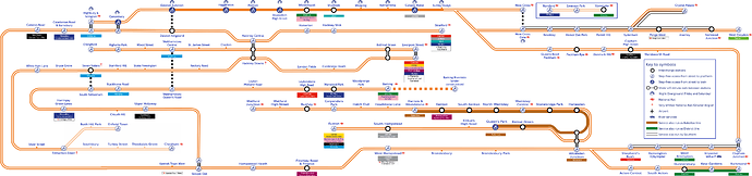 Overground In car Diagram PNG 5